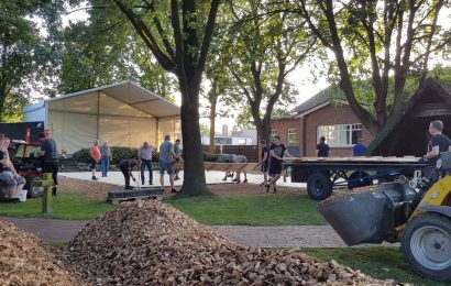 NEWS: Aufbau für AHRENSMOOR Open Air!