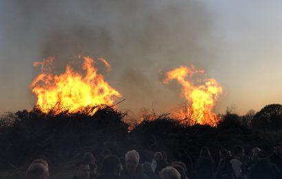 NEWS: Osterfeuer und private Feuer
